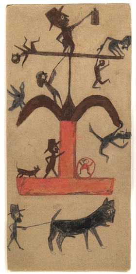 Bill Traylor Figures 1940
